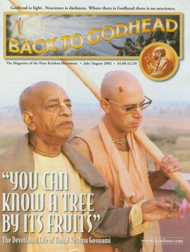 Back To Godhead Volume-36 Number-04, 2002