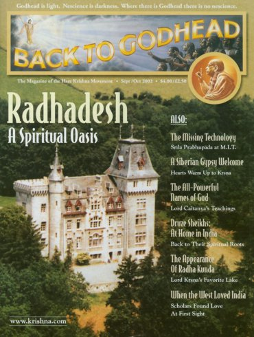 Back To Godhead Volume-36 Number-05, 2002