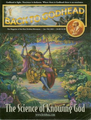 Back To Godhead Volume-37 Number-01, 2003