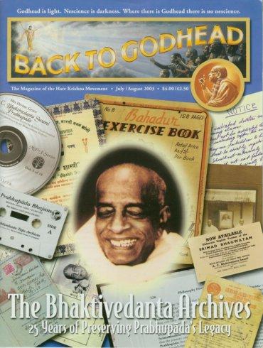 Back To Godhead Volume-37 Number-04, 2003