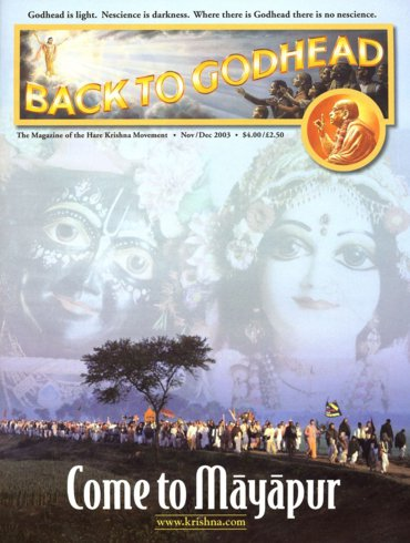 Back To Godhead Volume-37 Number-06, 2003