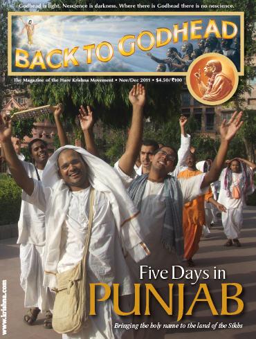 Back To Godhead Volume-45 Number-06, 2011