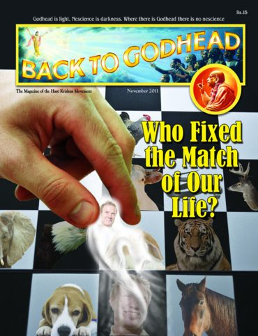 Back To Godhead Volume-08 Number-11 (Indian), 2011