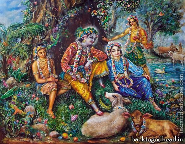 Surrender Unto Me Krishna's Loving Invitation by Arcana Siddhi Devi Dasi