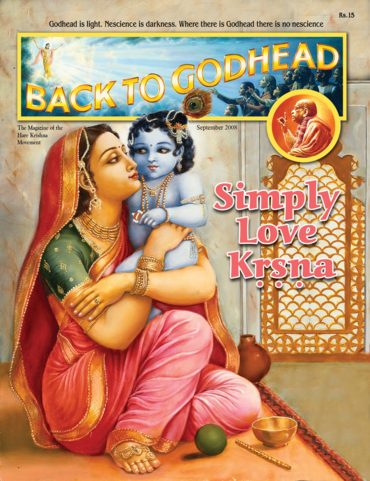 Back To Godhead Volume-05 Number-09 (Indian), 2008