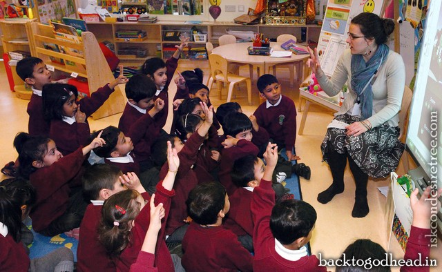 The Krishna Avanti School - Back To Godhead