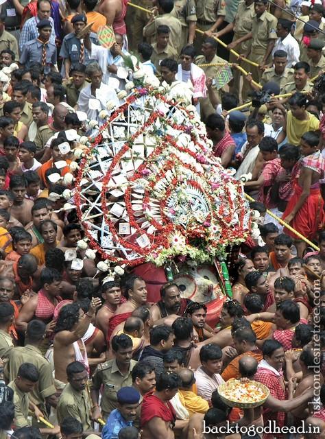 Jagannatha Puri Ratha Yatra A Front-Row View by Jahnudvipa Dasa