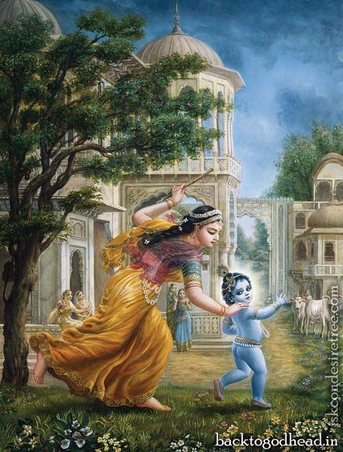 Damodarashtakam - Back To Godhead