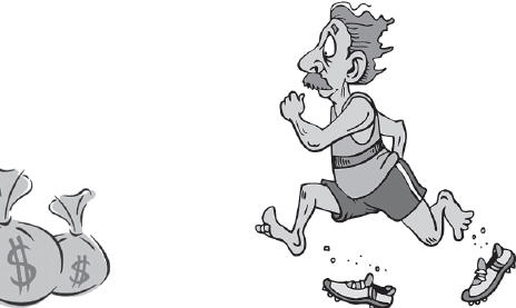 Running after Lakshmi by Gautam Saha