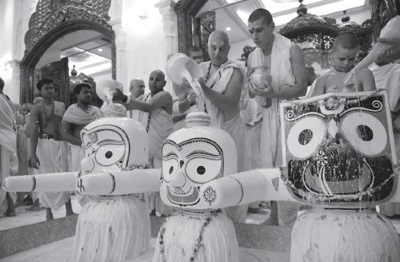 abhisheka ceremony