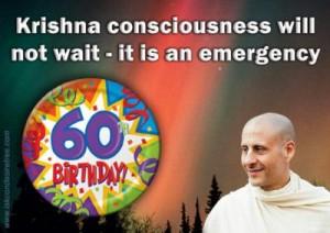 Radhanath Swami Poster