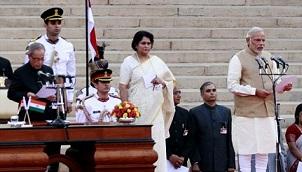 ISKCON Participates in PM's Swearing in Ceremony