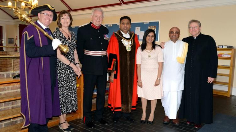 ISKCON Devotee Becomes Chaplain to Harrow Mayor