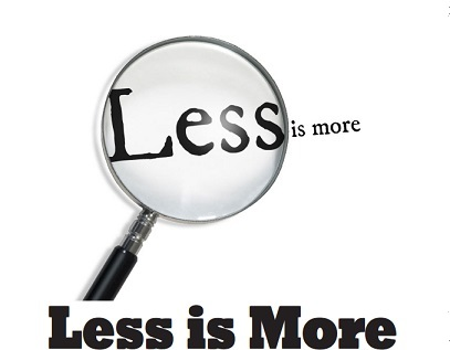 Less is More by Mahatma Dasa