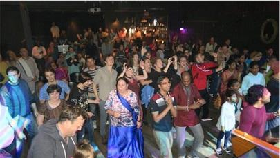 Hare Krishna Festival Tour Gets Irish Feet Dancing