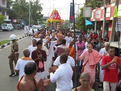 Ratha-yatra in Sri Lanka