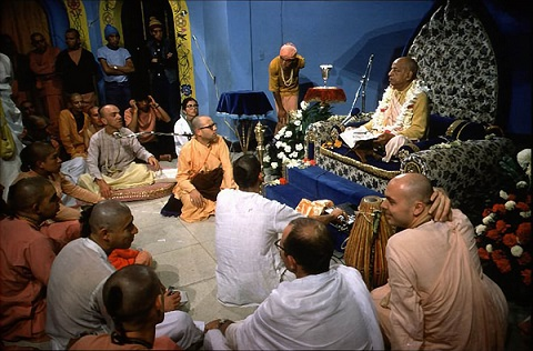 Fill Your Ears With the Transcendental Message by His Divine Grace A.C. Bhaktivedanta Swami Prabhupada