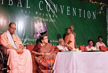Tribal Convention in Mayapur