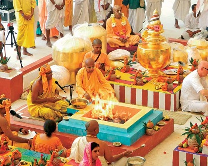 Celebrating  Purity, Sanctity & Magnanimity by Manish Goel