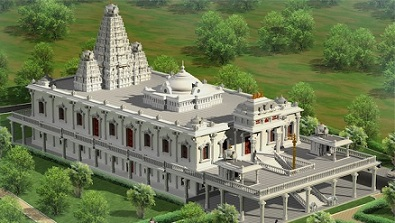 A New ISKCON Temple Rising in Vishakhapatnam