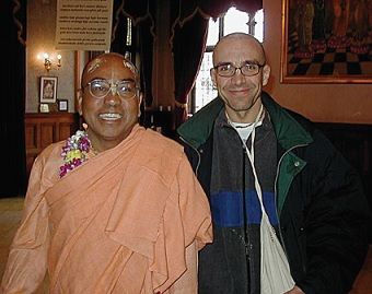 Sankirtana Spreads in the Land of the Arabs by Damodara Nityananda Dasa