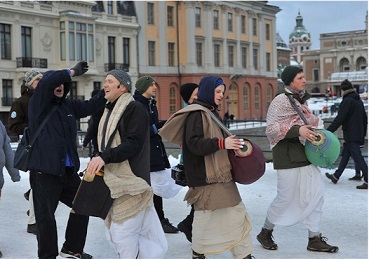 ISKCON Stockholm Campaigns to Save Center