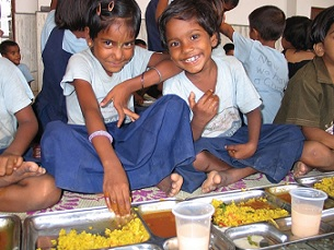 ISKCON provides more than 1.5 million free meals daily