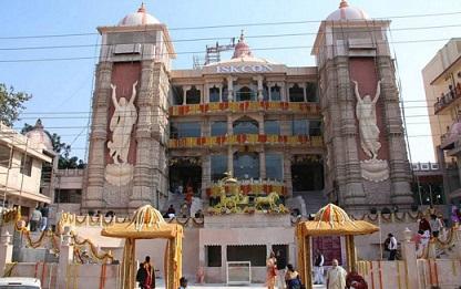Inaugurating Govind Dham by Lokanath Swami