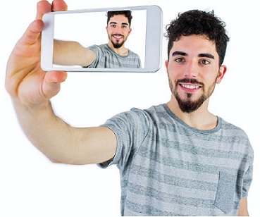 The Original Selfie-Optimized Phone by Nanda Dulal Dasa