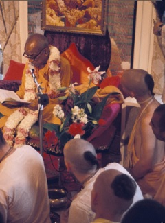 Fill Your Ears With the Transcendental Message by His Divine Grace A. C. Bhaktivedanta Swami Prabhupada