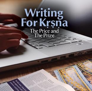 Writing For Krishna The Price and The Price by Caitanya Carana Dasa
